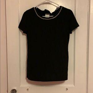 NWT black White House Black Market shirt